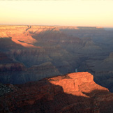 Sunrise am Grand Canyon